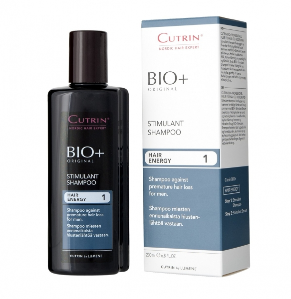 Стимулирующий шампунь для мужчин CUTRIN PROFESSIONAL