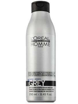 Шампунь мужской для седых волос Лореаль