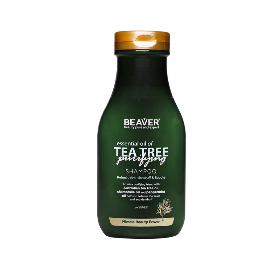 Шампунь с маслом чайного дерева
